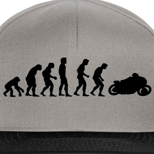 motorcycle evolution Tröjor - Snapbackkeps