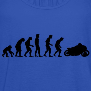 motorcycle evolution T-Shirts - Women's Tank Top by Bella