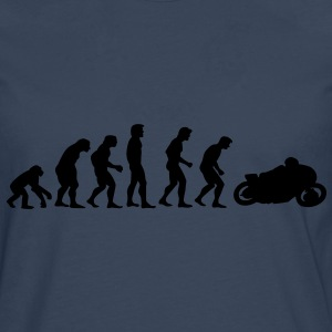 motorcycle evolution T-Shirts - Men's Premium Longsleeve Shirt