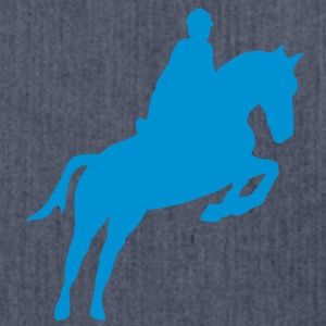 equitation cavalier12 obstacle cheval sa Tee shirts - Sac bandoulière 100 % recyclé