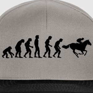 horse racing evolution Felpe - Snapback Cap