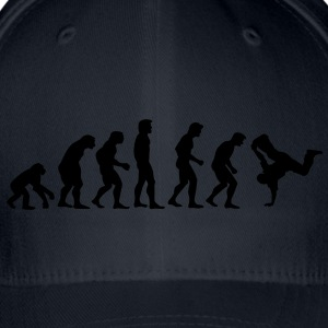 breakdance_evolution Sweatshirts - Flexfit baseballcap