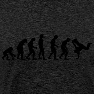 breakdance_evolution Sweatshirts - Herre premium T-shirt