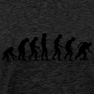 skater_02_evolution Sweaters - Mannen Premium T-shirt