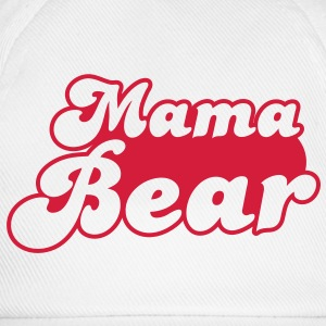 MAMA bear cute family group  T-Shirts - Baseball Cap