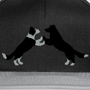 dog dancing Border Collies  Parasol - Czapka typu snapback