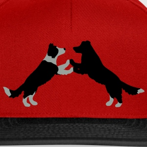 dog dancing Border Collies  T-shirts - Snapbackkeps