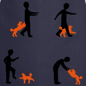 Dog Dancing 2-1 T-Shirts - Cooking Apron