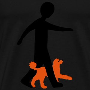 Dog Dancing 2-4 Sweatshirts - Herre premium T-shirt