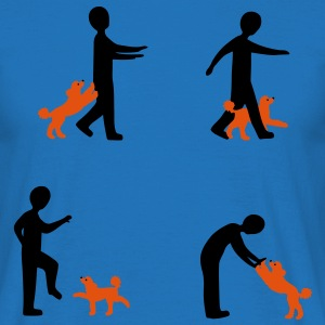 Dog Dancing 2-1 Tasker - Herre-T-shirt