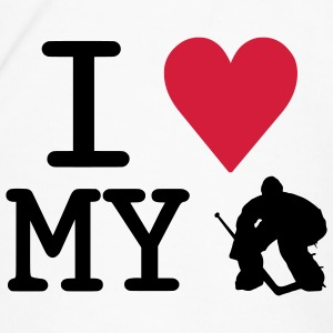 I Love My Goalie Water Bottle - Men's Premium T-Shirt
