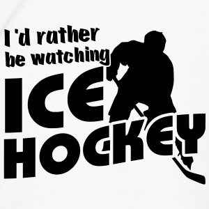 I'd Rather Be Watching Ice Hockey Water Bottle - Men's Premium T-Shirt