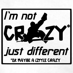 Hockey Goalie I'm Not Crazy Water Bottle - Men's Premium Hoodie