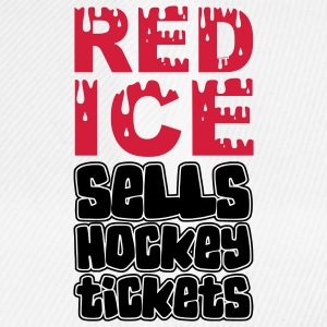 Red Ice Sells Hockey Tickets Water Bottle - Baseball Cap