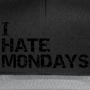 i  hate mondays T-shirts - Snapbackkeps
