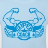 logo super coach aile bras muscle 3072 Tee shirts Enfants - T-shirt Bio Enfant