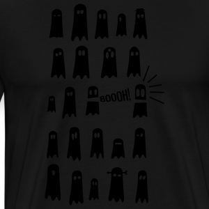 geister gespenster glow in the dark - Männer Premium T-Shirt