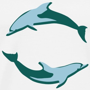 dolphins Bottles & Mugs - Men's Premium T-Shirt