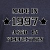 Made in 1997 Hoodies & Sweatshirts - Women's Boat Neck Long Sleeve Top