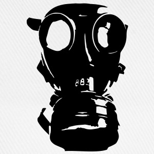 gas mask, skull, skull, respiratory protection, Bundeswehr - Baseball Cap