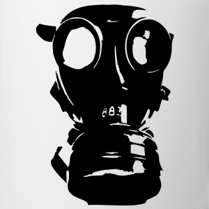gas mask, skull, skull, respiratory protection, Bundeswehr - Mug