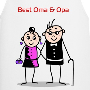 Best Oma & Opa T-Shirts - Cooking Apron