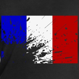 French flag splatter - Men's Sweatshirt by Stanley & Stella