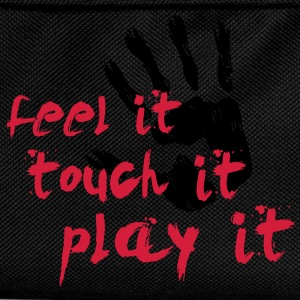 Handball T-Shirt - Feel it, touch it, play it T-Shirts - Kinder Rucksack