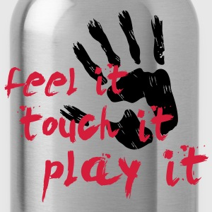 Handball T-Shirt - Feel it, touch it, play it T-Shirts - Trinkflasche