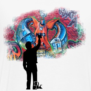 Salt & pepper graffiti is art Hoodies & Sweatshirts - Men's Premium T-Shirt
