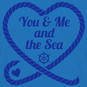 You & Me and the Sea - Männer T-Shirt