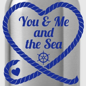 You & Me and the Sea - Trinkflasche