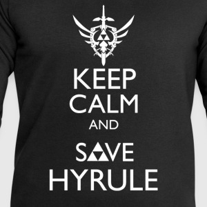 Zelda - Keep Calm & Save Hyrule T-Shirts - Men's Sweatshirt by Stanley & Stella