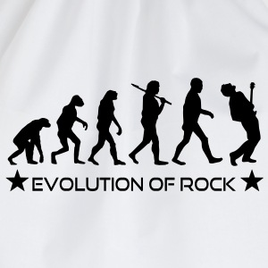 evolution_of_rock Camisetas - Mochila saco