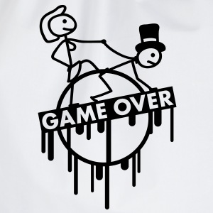 game_over_bachelor_graffiti_stamp Tee shirts - Sac de sport léger