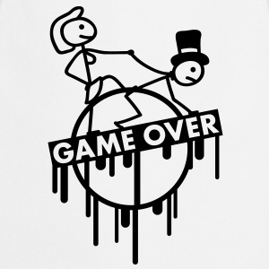 game_over_bachelor_graffiti_stamp T-Shirts - Cooking Apron