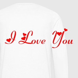 Boxer I Love You homme - T-shirt manches longues Premium Homme