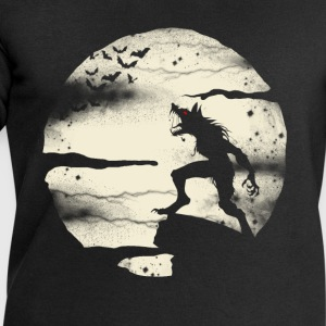 Werewolf With The Full Moon T-Shirts - Men's Sweatshirt by Stanley & Stella