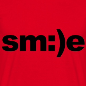 Smile Sweaters - Mannen T-shirt