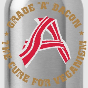 Grade A Bacon - The Cure for Veganism  Aprons - Water Bottle