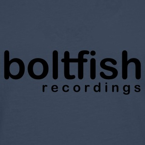 Navy Boltfish Recordings Logo Hoodies & Sweatshirts - Men's Premium Longsleeve Shirt
