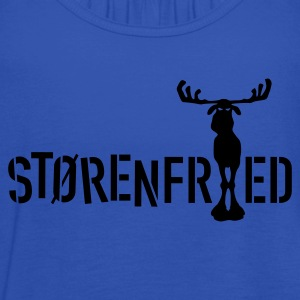 Navy størenfried (Elch) T-Shirt - Frauen Tank Top von Bella