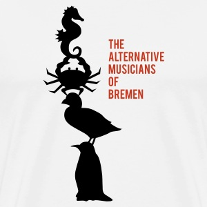 The alternative musicians of Bremen Langarmshirts - Männer Premium T-Shirt