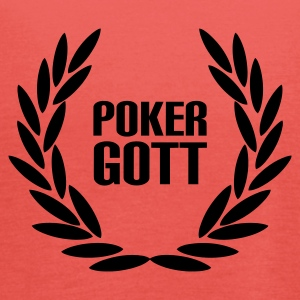 Chocolate/sun Poker Gott T-Shirt - Frauen Tank Top von Bella