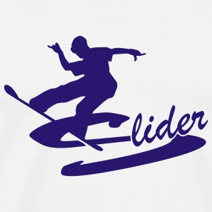 Slide and Style - Männer Premium T-Shirt