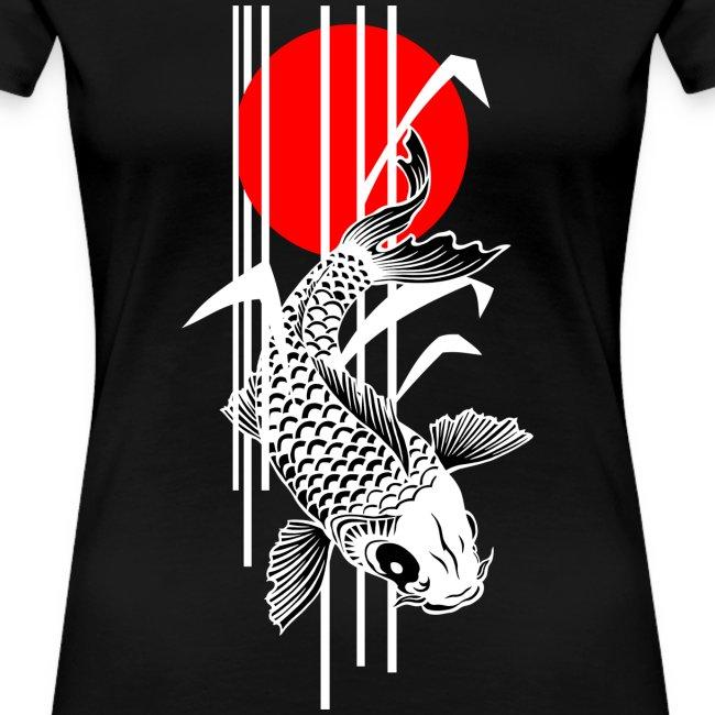 Bamboo Design - Nishikigoi - Koi Fish 2