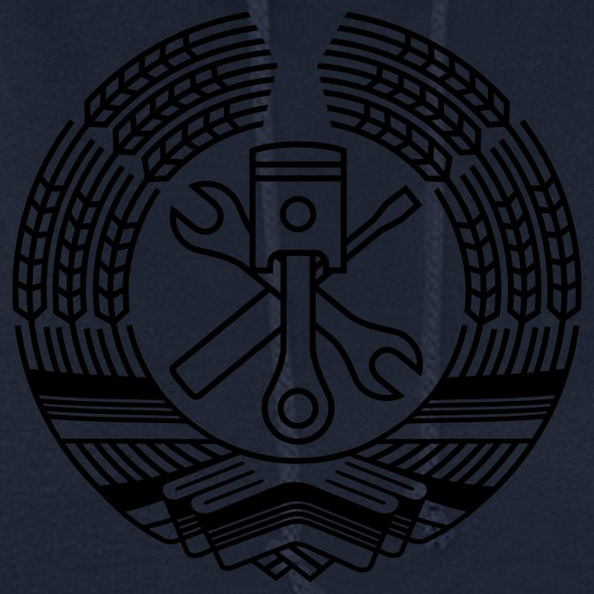 DDR Werkstatt Tuning Wappen (+ Dein Text)