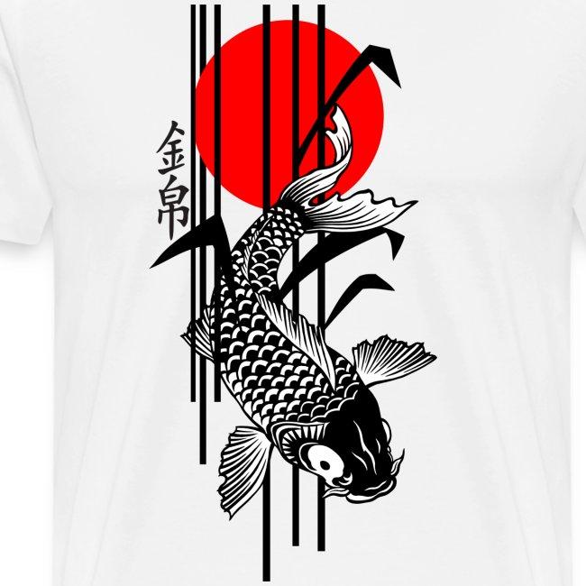 Bamboo Design - Nishikigoi - Koi Fish 3