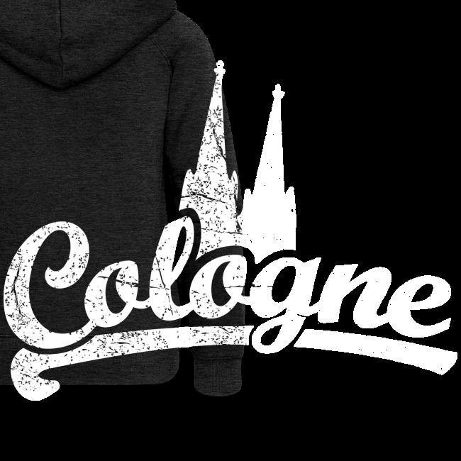 Cologne Dom Classic (Vintage Weiß) Köln Design mit Kölner Dom