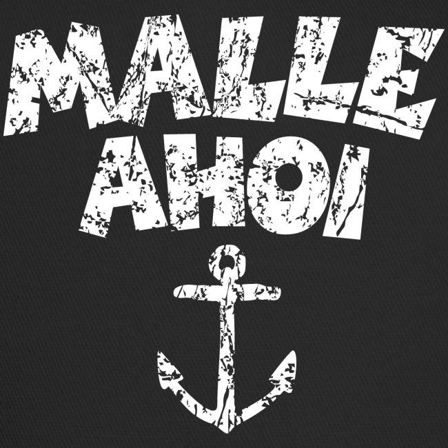 Malle Ahoi T-Shirt (Vintage Weiß)